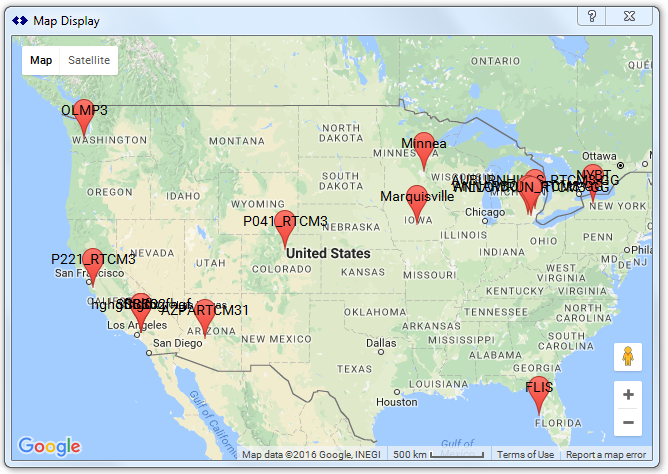 Support for Basic Mapping SNIP Support – Map of the World Zoomable